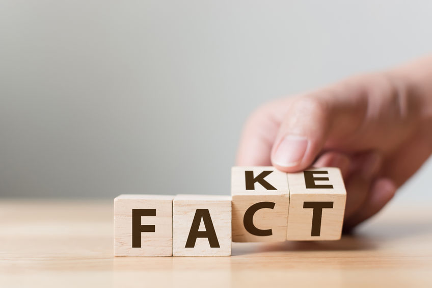 Fact or fake cubes
